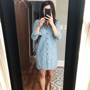 Old Navy Jean button up dress